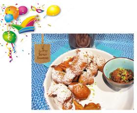Acras du Mardi Gras  - Rhum Arrangé aux Nèfles