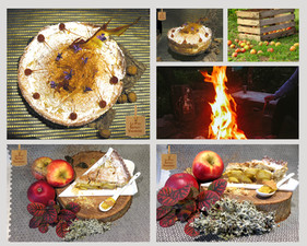 Tarte Strussel Rustique Pommes-Rhum