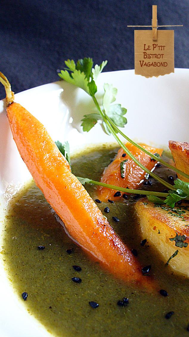 Les carottes sont totalement cuites... interprétation potage.