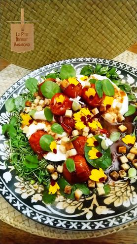 Tomate Burrata en Chaud-Froid