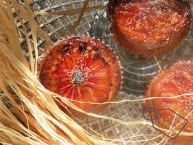Meli-Melo d'Agrumes pour Cake au Levain... ou comment utiliser des oranges un peu oubliées