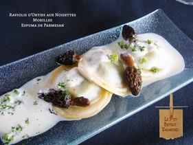 Ortie, Morilles, Parmesan... tout en Pasta!
