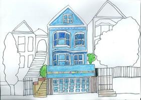 """Le Pain au Levain de la """"Maison Bleue Adossée à la Colline..."""