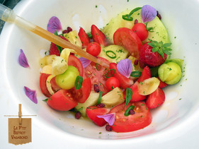 Salade de Fruits - Gastrique aux Fruits de la Passion