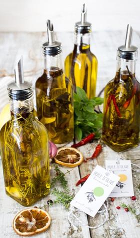 Parfumer son huile culinaire