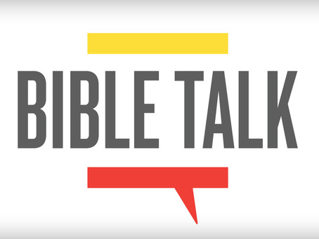 Starting Bible Talk