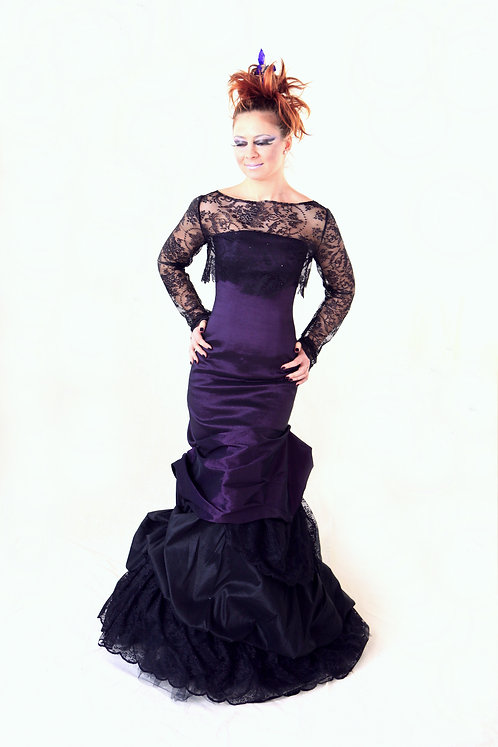 elegant and sophisticated gala dress