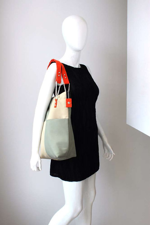 Modern and chic tote bag