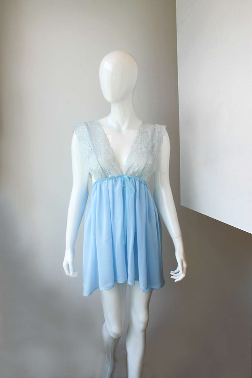 light blue babydoll