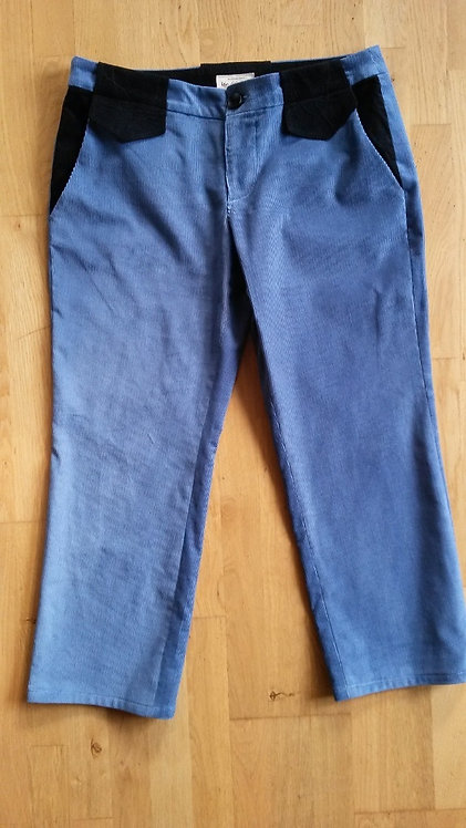 corduroy classical trousers