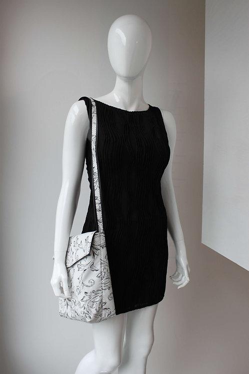 fake leather reversible bag