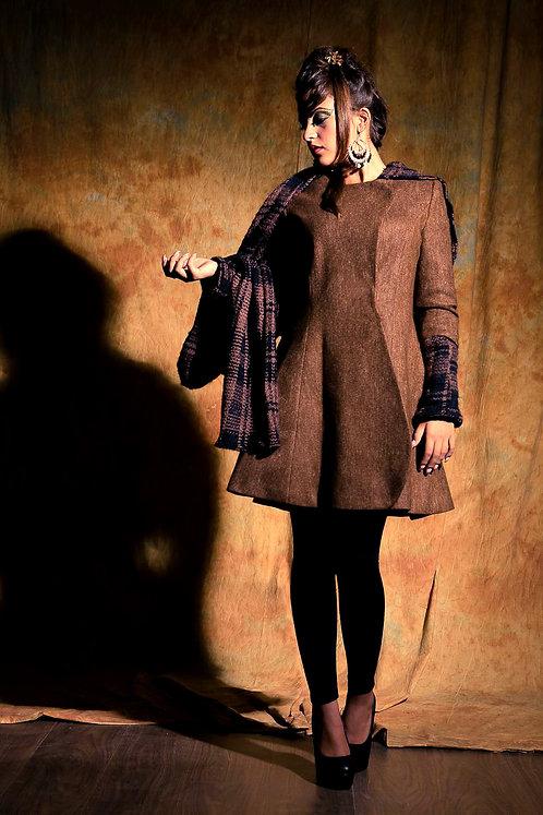 elegant tailored wool coat
