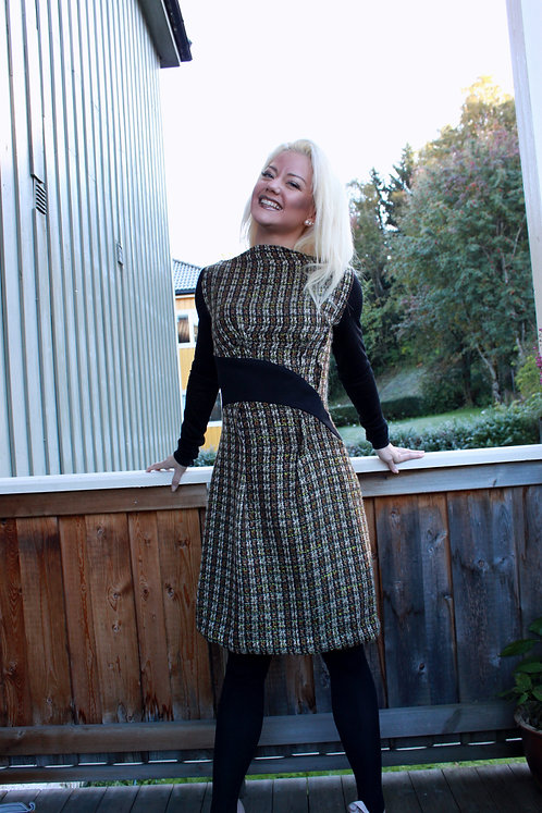 chic dress for cold days