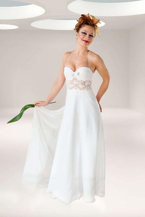 gracious lace wedding dress