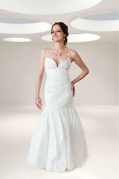 sensual mermaid shape wedding dress