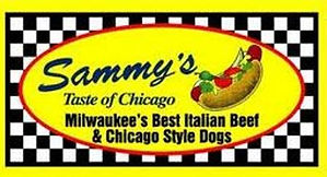 polish,corn,dogs,hot,beef,itaian,sausage,fast,fod,lunch,dinner,restaurants,restaurant,wi,west,allis,milwaukee,oak,creek,hwy,100,greenfield,wauwatosa,wisconsin,badgers,brewers,packers,game,day,specials,daily,99,cents,sandwiches,to,go,dine,in,carry,out,menu,online,facebook,discounts,coupons,sammys,taste,of,chicago,family,chili,soups,melt,cheese,fries
