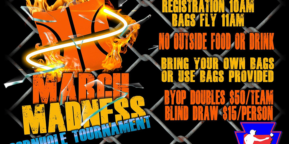 March Madness Cornhole Tournament
