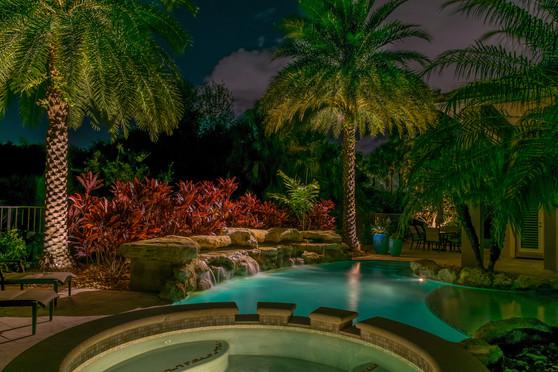 Lighting for Jacuzzi & Pool Area