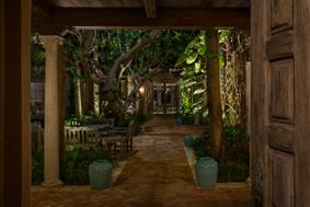 Courtyard Lighting