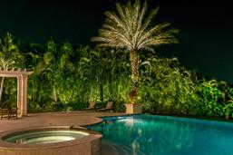 Lighting for Pool & Jacuzzi Area