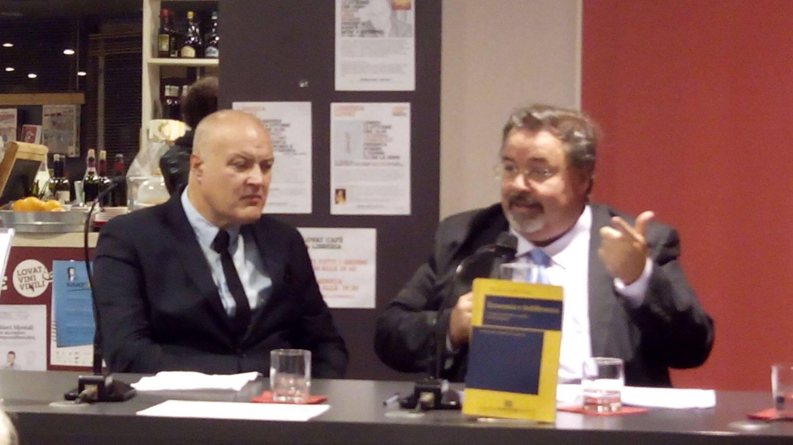 presentazione a Trieste del libro Economia e Indifferenza