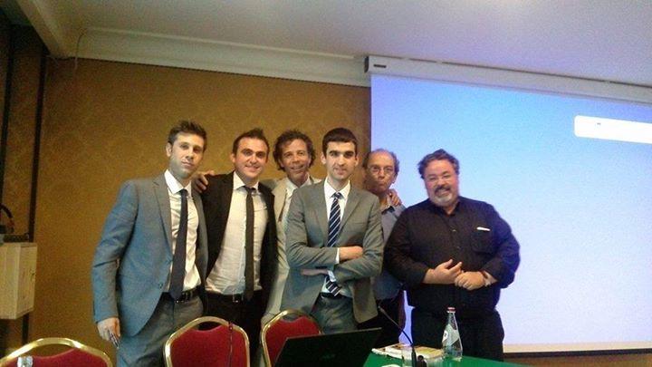 Con Carlo Vallotto e Carlo Alberto De Casa, miei coautori con Marco Tosoni del libro Oro e Risparmio
