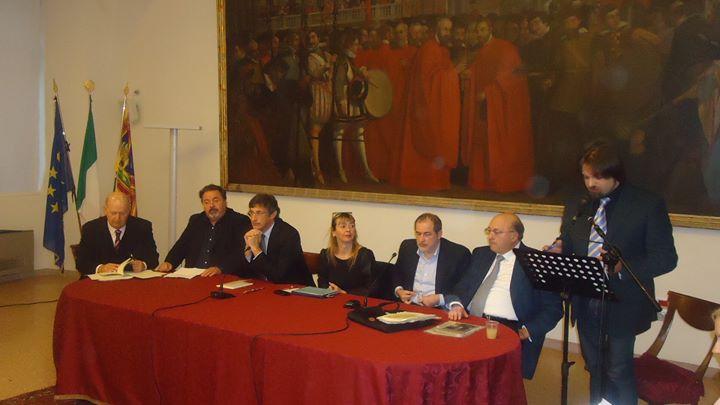 Presentazione del Libro La Serva di Padova di Vincenzo Faggiano nella Sala Paladin del Comune di Pad