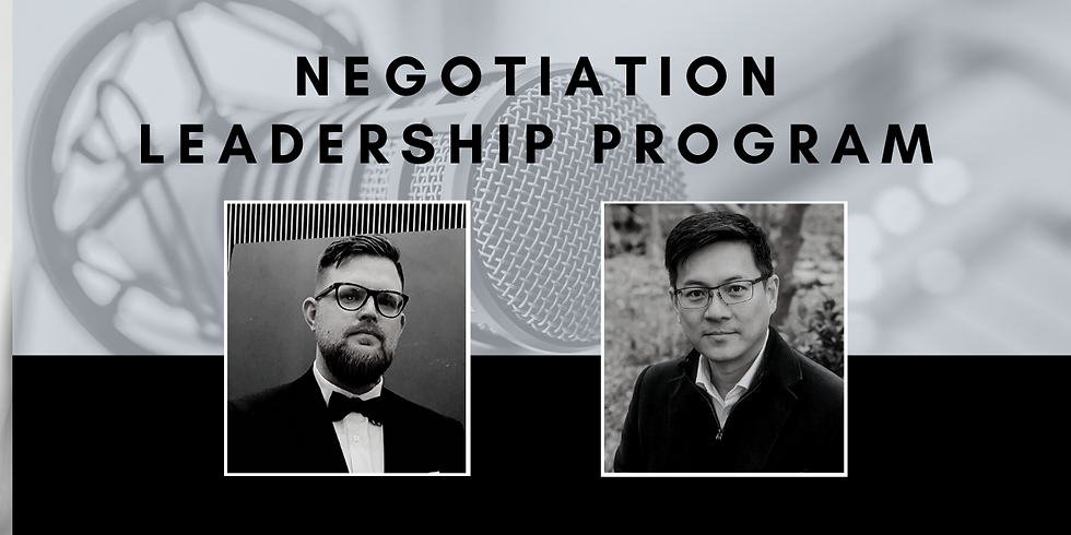 Private Q&A: Negotiation Leadership Program