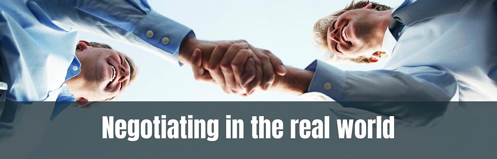 negotiation master part II langing page
