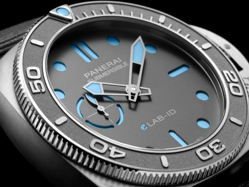 【WATCHES & WONDERS 2021】PANERAI 領導環保製錶概念 Submersible eLAB-ID 與Luminor Marina eSteel