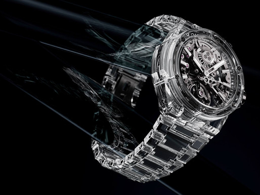 【WATCHES & WONDERS 2021】全裸誘惑 HUBLOT Big Bang Integral Tourbillon Full Sapphire
