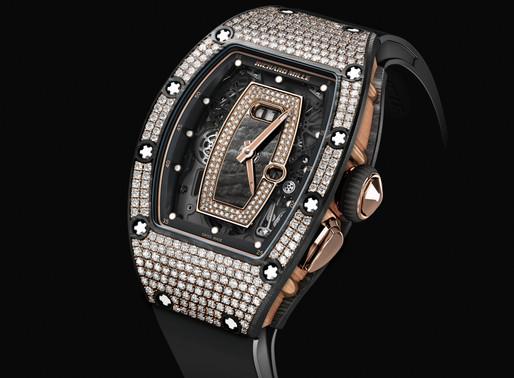 RICHARD MILLE PRE-SIHH 新錶創新意:NTPT碳纖維材質鑲鑽