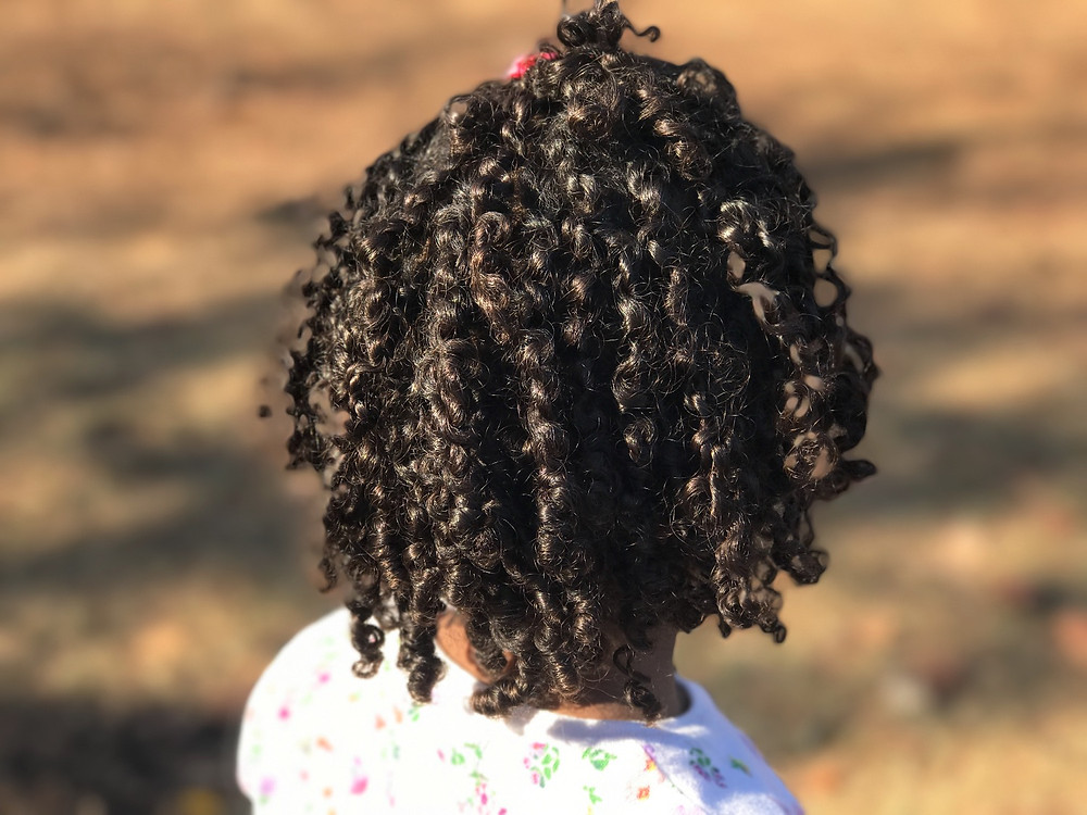 4 Easy Steps For Deep Conditioning Little Girls' Hair | DommiesBlessed