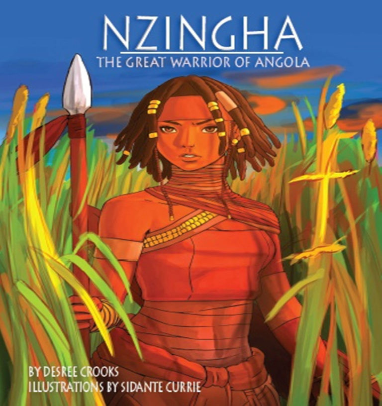 Nzingha The Great Warrior Of Angola Book Cover | DommiesBlessed