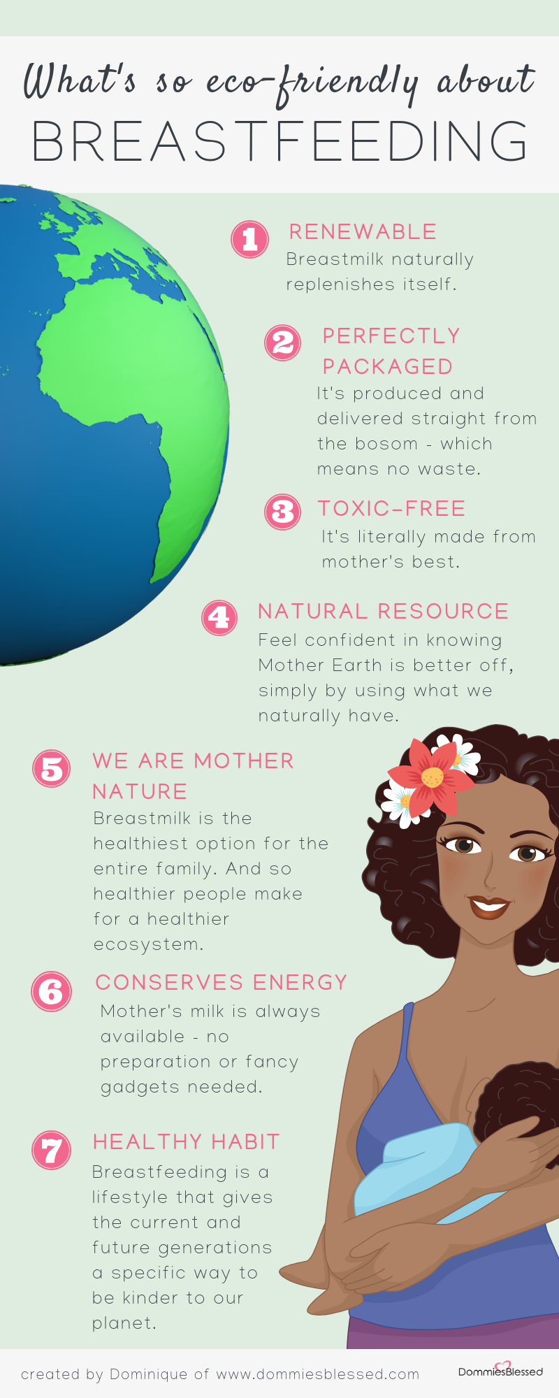 What's So Eco-Friendly About Breastfeeding