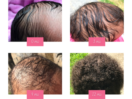 When Did Your Baby's Hair Texture Change?
