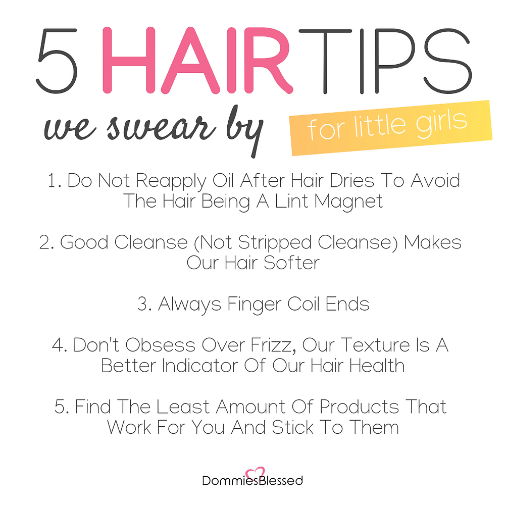 5 Hair Care Tips We Swear By For Little Girls