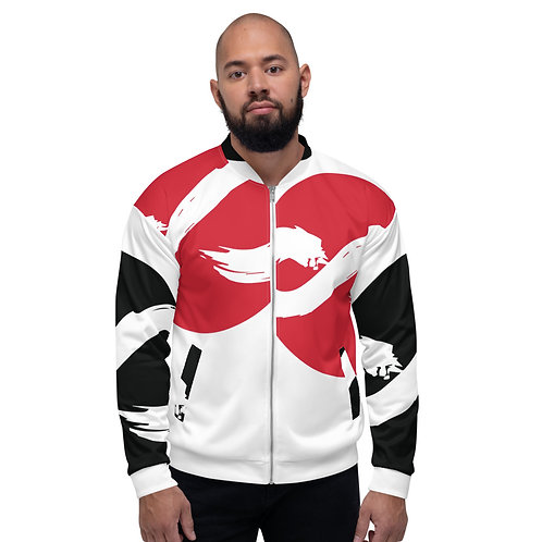 Infinity Bomber Jacket - Red