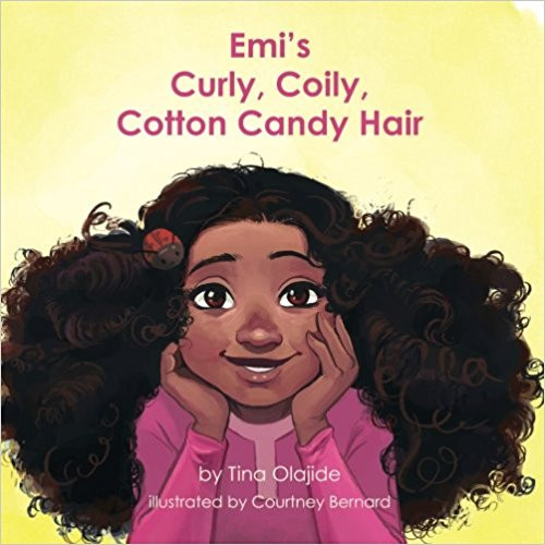 Emi's Curly Coily Cotton Candy Hair book cover