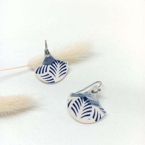 Boucles d'oreilles Palmette