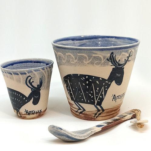 """Mugs """"Mythologie Grecque"""" Artémis"""