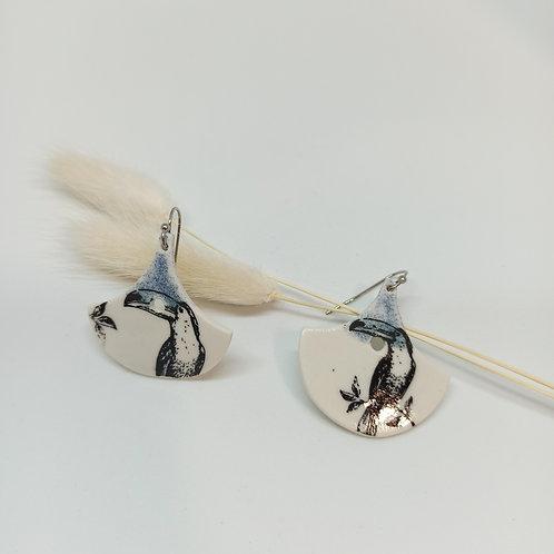 Boucles d'oreilles Toucan