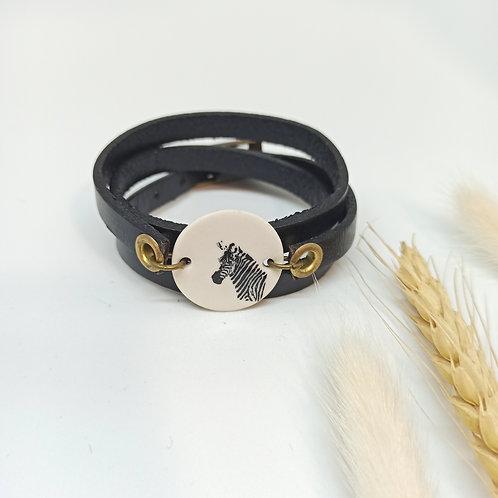 Bracelet Zèbre