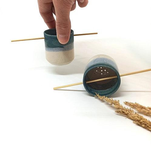 Filtre à thé en céramique adaptable