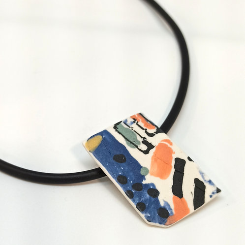 Collier PoP porcelaine
