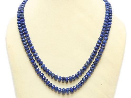 Lapis Lazuli Double String Necklace