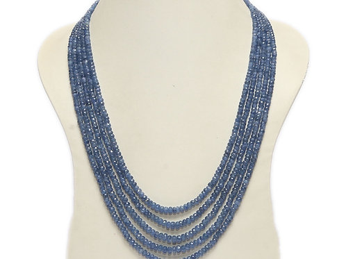 Sapphire Five String Necklace