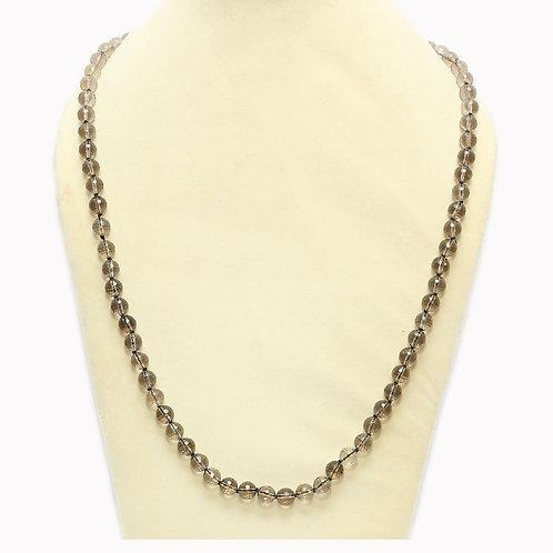 Light Smoky Quartz Necklace