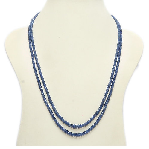 Sapphire Double String Necklace