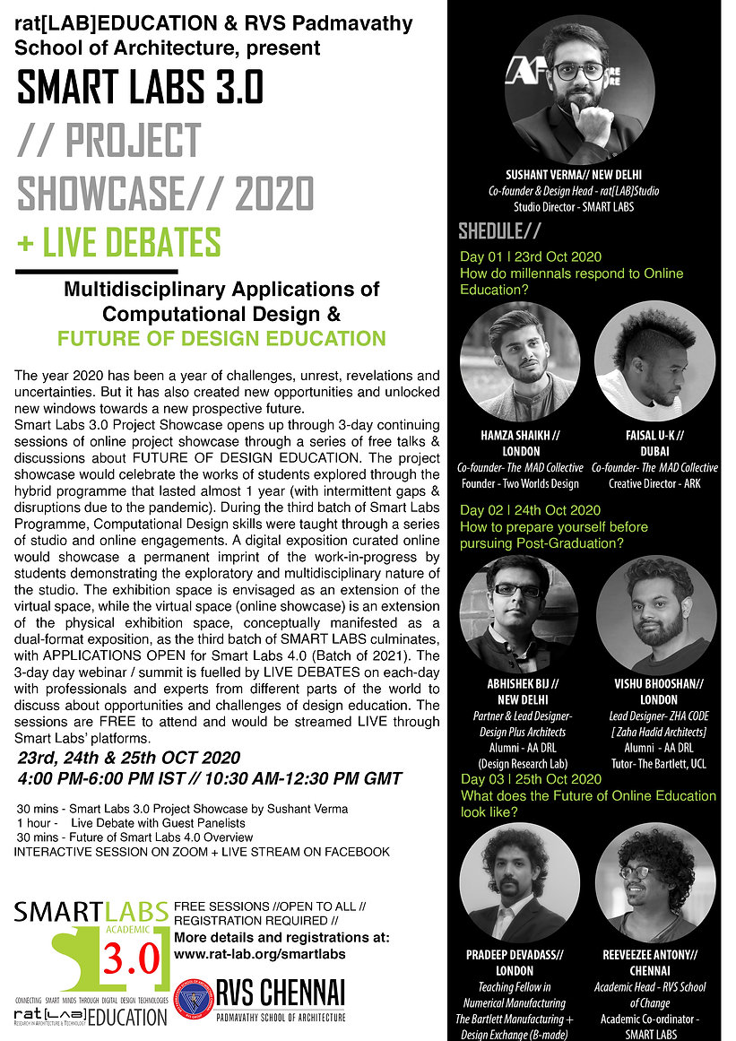 Smart Labs 3 Project Showcase 2020